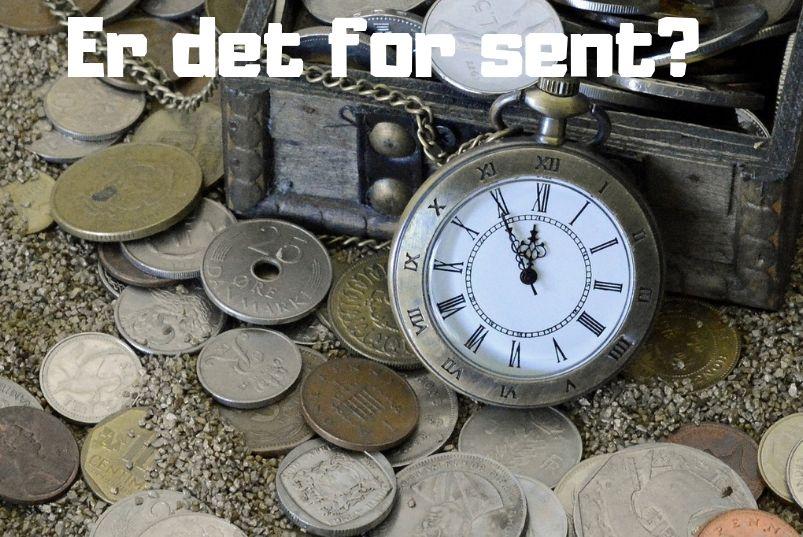 Er det for sent å få orden på økonomien?