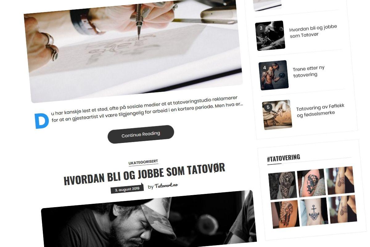 Jeg har startet en ny Blogg!